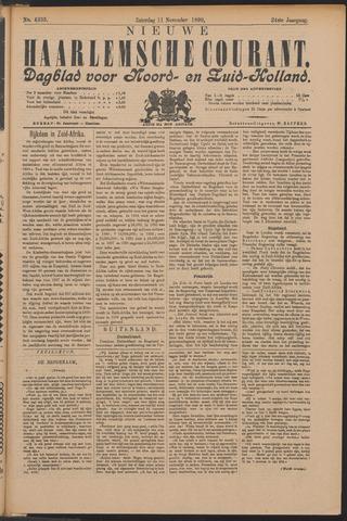 Nieuwe Haarlemsche Courant 1899-11-11