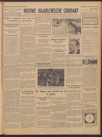 Nieuwe Haarlemsche Courant 1936-04-19