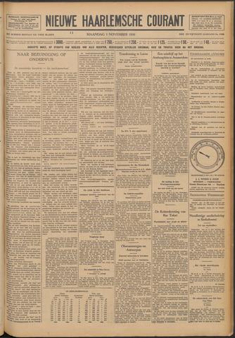 Nieuwe Haarlemsche Courant 1930-11-03