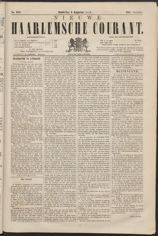 Nieuwe Haarlemsche Courant 1885-08-06