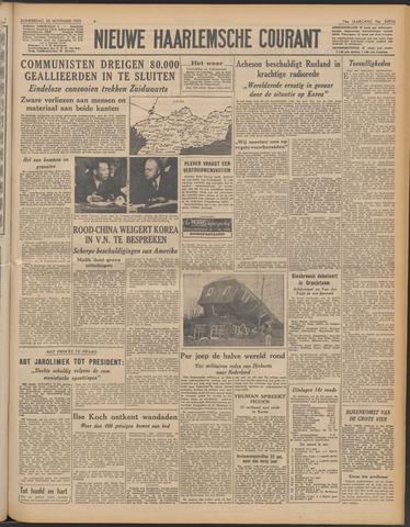 Nieuwe Haarlemsche Courant 1950-11-30