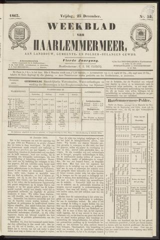 Weekblad van Haarlemmermeer 1863-12-25