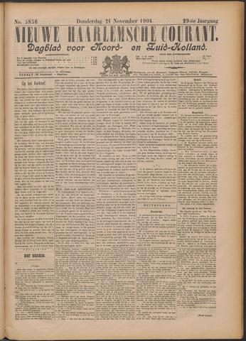 Nieuwe Haarlemsche Courant 1904-11-24