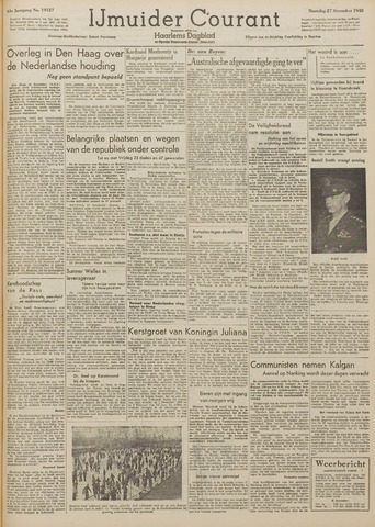 IJmuider Courant 1948-12-27