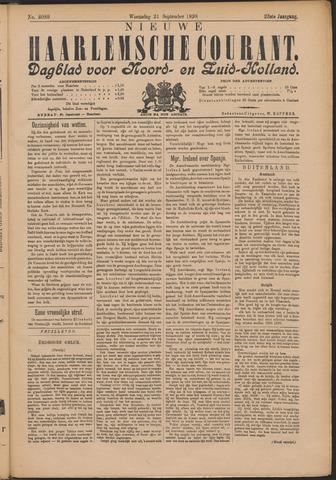Nieuwe Haarlemsche Courant 1898-09-21