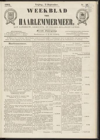 Weekblad van Haarlemmermeer 1862-09-05