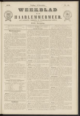 Weekblad van Haarlemmermeer 1870-11-04