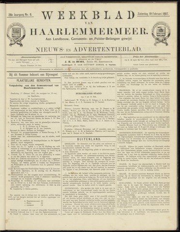 Weekblad van Haarlemmermeer 1887-02-19