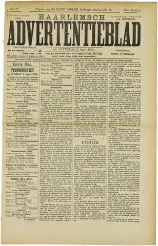 Haarlemsch Advertentieblad 1889-04-06