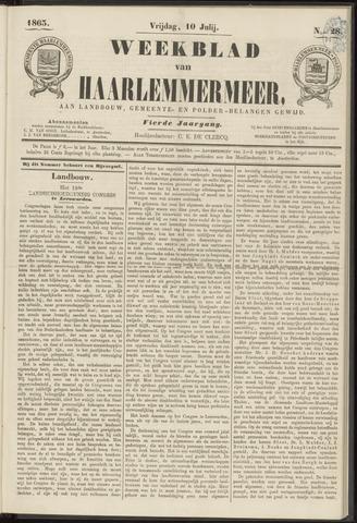 Weekblad van Haarlemmermeer 1863-07-10