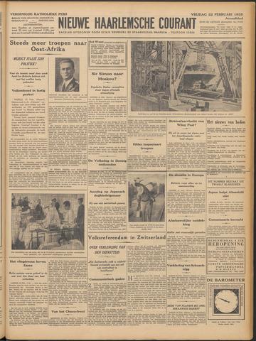 Nieuwe Haarlemsche Courant 1935-02-22