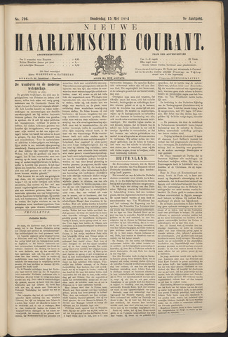 Nieuwe Haarlemsche Courant 1884-05-15