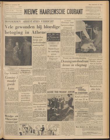 Nieuwe Haarlemsche Courant 1965-08-21