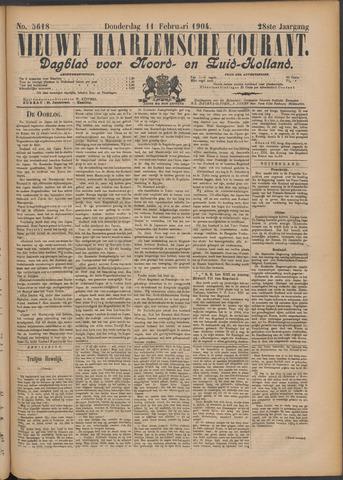 Nieuwe Haarlemsche Courant 1904-02-11