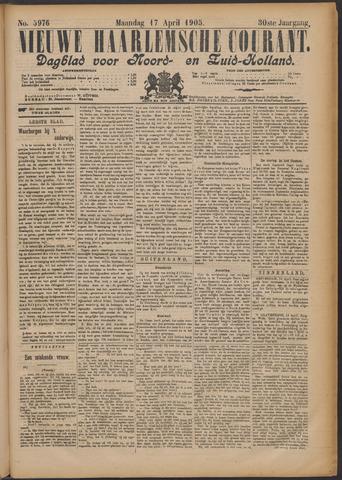 Nieuwe Haarlemsche Courant 1905-04-17