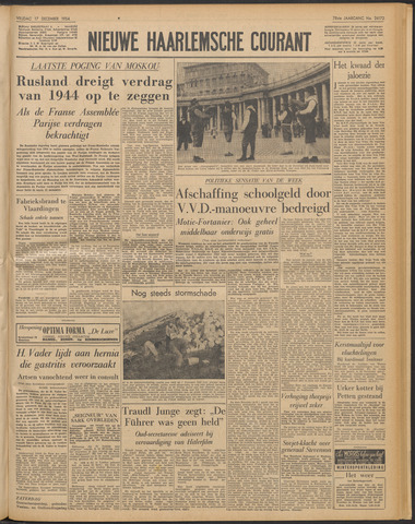 Nieuwe Haarlemsche Courant 1954-12-17