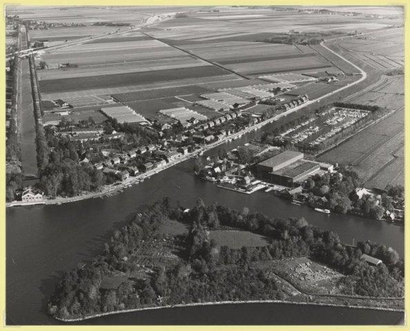 Luchtfoto Buitenkaag.