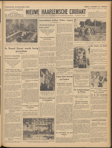 Nieuwe Haarlemsche Courant 1937-09-13