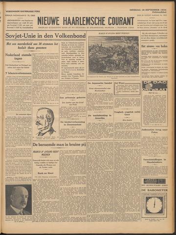 Nieuwe Haarlemsche Courant 1934-09-18