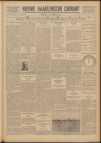 Nieuwe Haarlemsche Courant 1931-08-18