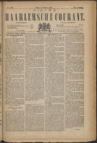 Nieuwe Haarlemsche Courant 1892-10-21