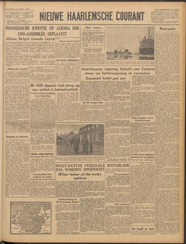 Nieuwe Haarlemsche Courant 1949-04-09