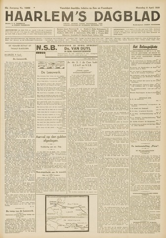 Haarlem's Dagblad 1935-04-08