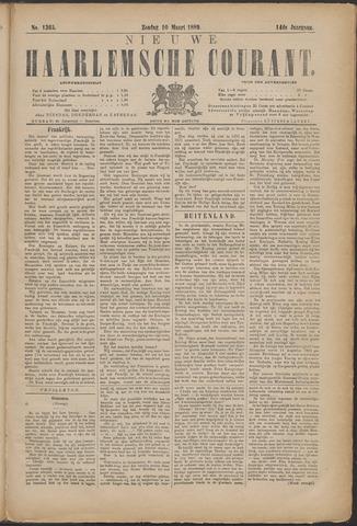 Nieuwe Haarlemsche Courant 1889-03-10