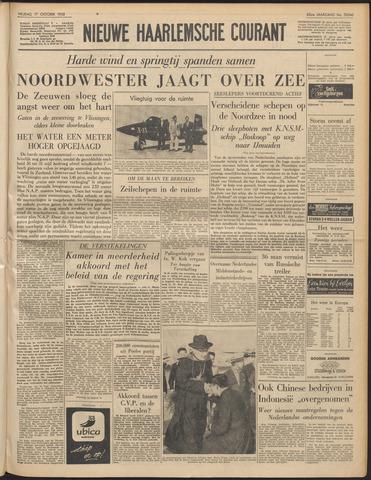 Nieuwe Haarlemsche Courant 1958-10-17