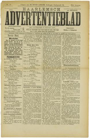 Haarlemsch Advertentieblad 1889-02-09