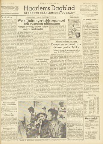 Haarlem's Dagblad 1954-08-10