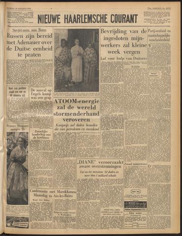 Nieuwe Haarlemsche Courant 1955-08-20