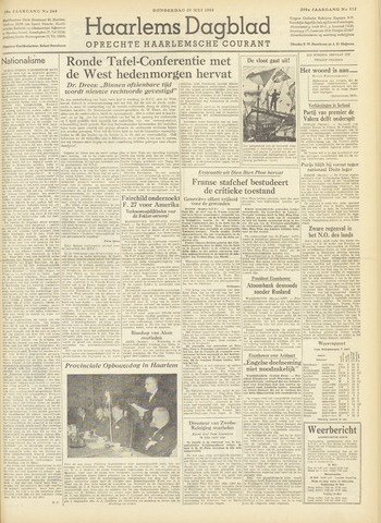 Haarlem's Dagblad 1954-05-20