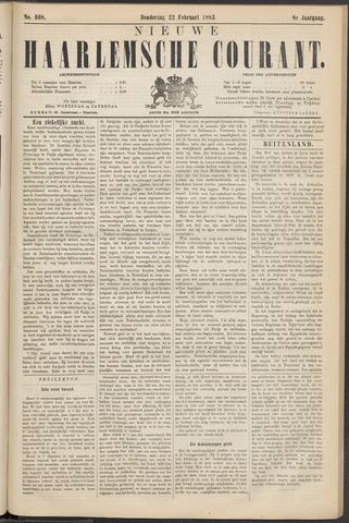 Nieuwe Haarlemsche Courant 1883-02-22