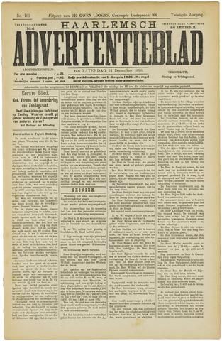 Haarlemsch Advertentieblad 1898-12-24