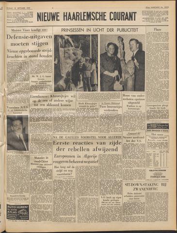 Nieuwe Haarlemsche Courant 1959-09-18