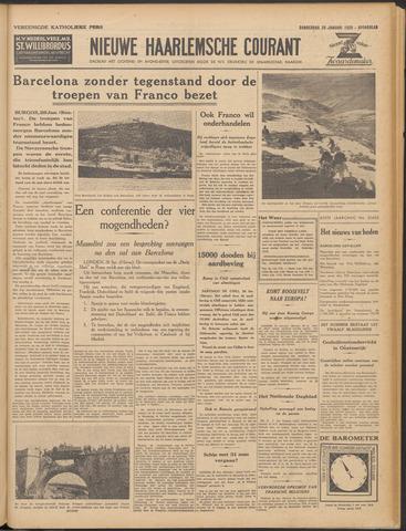 Nieuwe Haarlemsche Courant 1939-01-26