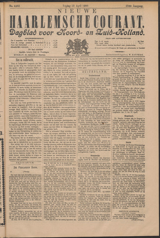 Nieuwe Haarlemsche Courant 1900-04-13
