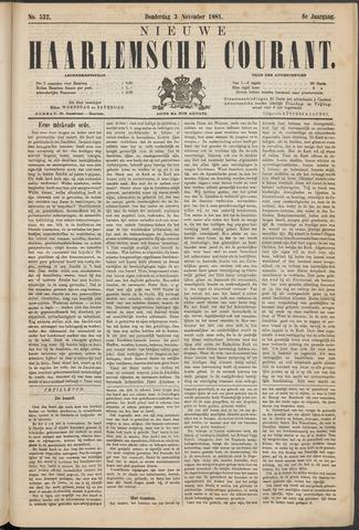 Nieuwe Haarlemsche Courant 1881-11-03