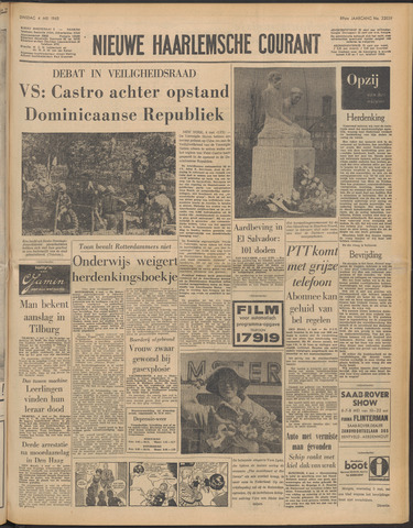 Nieuwe Haarlemsche Courant 1965-05-04