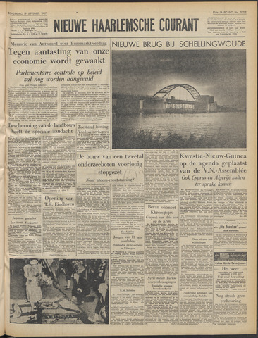 Nieuwe Haarlemsche Courant 1957-09-19