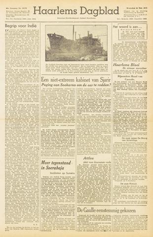 Haarlem's Dagblad 1945-11-14