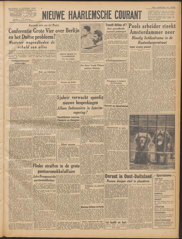 Nieuwe Haarlemsche Courant 1948-10-04