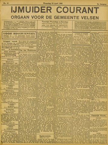 IJmuider Courant 1921-04-13