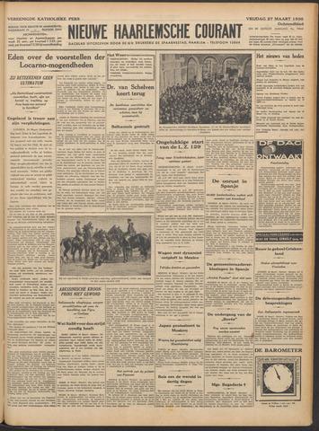 Nieuwe Haarlemsche Courant 1936-03-27