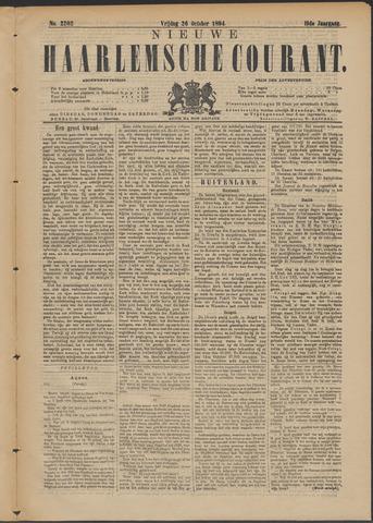 Nieuwe Haarlemsche Courant 1894-10-26