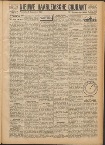 Nieuwe Haarlemsche Courant 1922-09-06