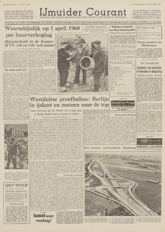 IJmuider Courant 1959-07-15