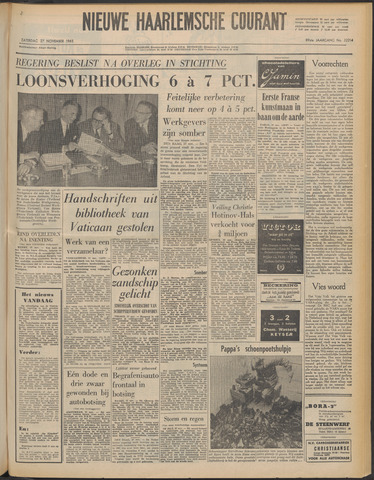 Nieuwe Haarlemsche Courant 1965-11-27