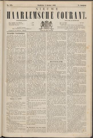 Nieuwe Haarlemsche Courant 1882-10-05